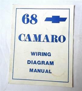 1968 Camaro Wiring Diagram Manual For Sale Online