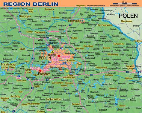 Karte Berlin Und Umgebung