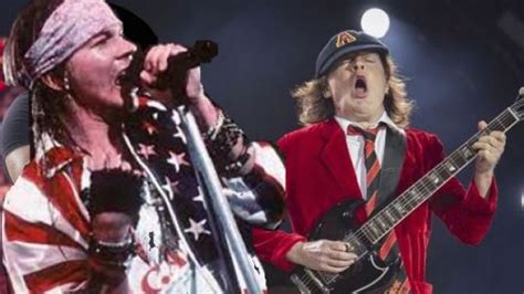 axl rose und ac dc ac dc confirm axl rose as official replacement for brian