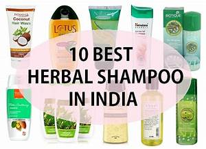 Best herbal shampoo in india