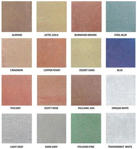 25 best ideas about concrete stain colors on