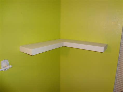 Ana White | Floating Corner Shelf - DIY Projects