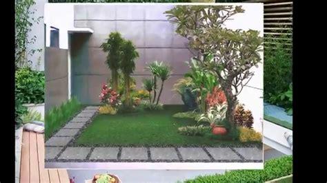 desain taman minimalis depan rumah youtube