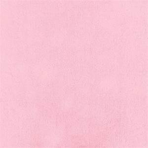Solid Bright Pink Minky Fabric by the Yard Pink Fabric