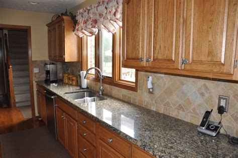 granite countertops  tile backsplash ideas eclectic kitchen indianapolis  supreme