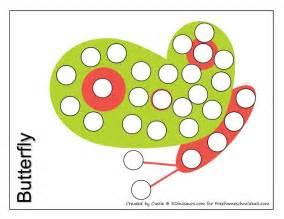 Do a Dot Free Printables Preschool