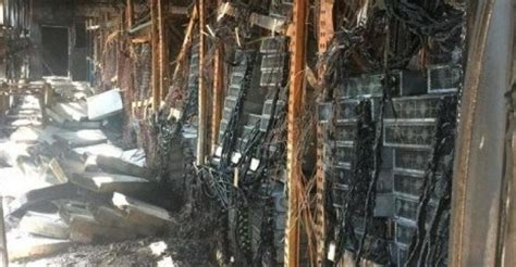 Bitcoin Equipment by At Bitcoin Mine Destroys Millions In Equipment Data