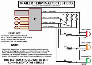Trailer Lighting Board Wiring Diagram  U2013 Wirdig Regarding Trailer Light Wiring Diagram