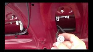 2005 Camry Light How To Replace License Plate And Light Bulb Toyota