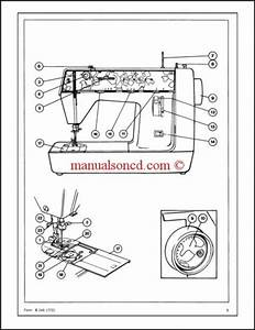 Singer Genie 353  354 Sewing Machine Service Manual