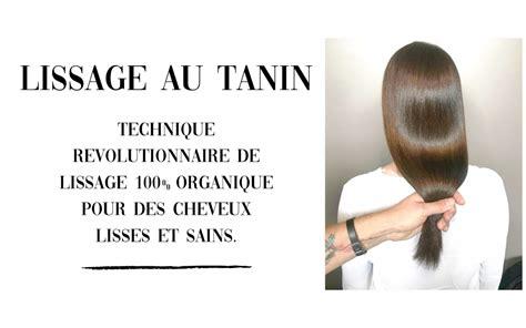 lissage au tanin botox capillaire ferber hair style