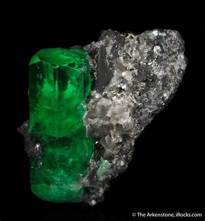 Emerald Specimen Mineral Muzo Mine Calcite Minerals