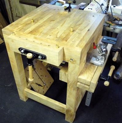 Build A Carving Bench  Wood Carving Magazine
