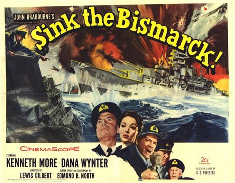 sink the bismarck movie kenneth more sink the bismarck movie reproduction poster