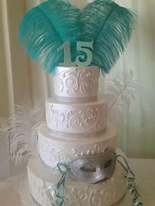 Quince Masquerade Cake Girls Birthdays Pinterest