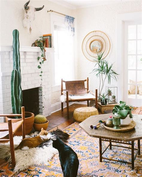 How to Create Bohemian Living Room the Easy Way - DIY Home Art