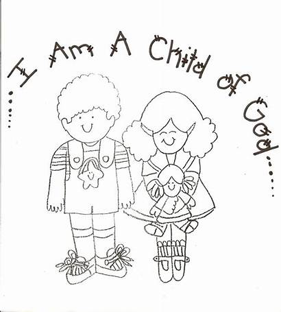 Coloring Pages Lds God Child Primary Nursery