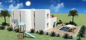 construire en tunisie avec les plans de maisons elyssa With modele de maison a construire en tunisie