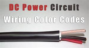 Dc Power Circuit Wiring Color Codes