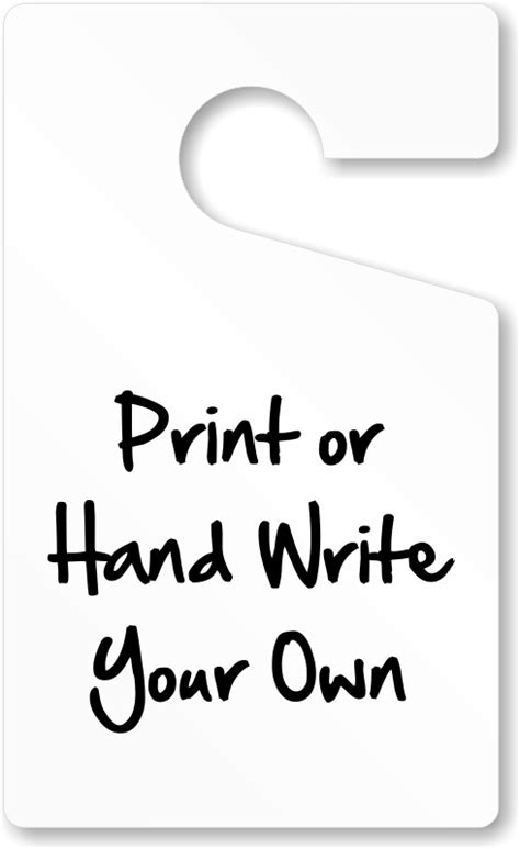 Hanging Parking Permit Template Free by Parking Hang Tags Design At Myparkingpermit