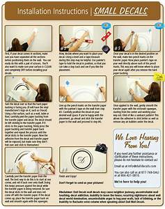 Installation Instructions Dali Wall Decals