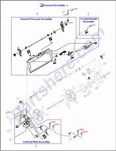 Rg5-6942-000cn Hp Left Side Carousel Plate