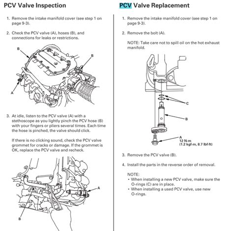 rl pcv valve location honda ridgeline owners club