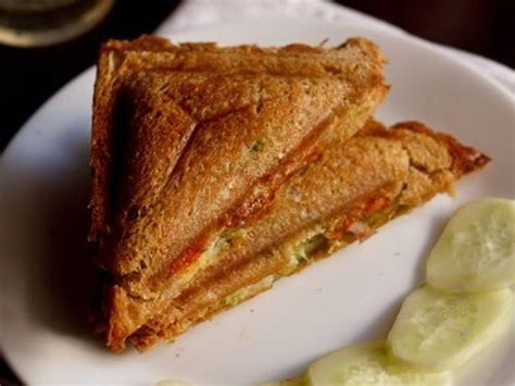 Toast Sandwich by Cheese Toast Sandwich Recipe Bombay Style Veg Cheese