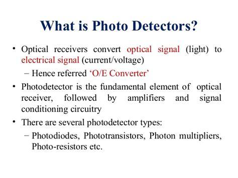 Photodetector Photodiode