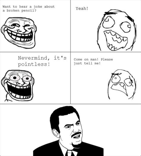 Funny Troll Memes - more rage comics troll face meme and face