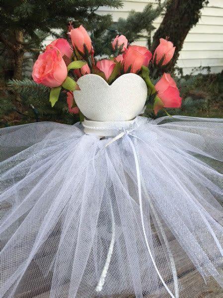 bridal shower centerpieces ideas  pinterest