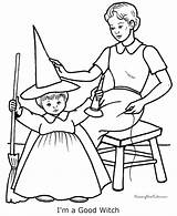 Coloring Witch Halloween Pages Sheets Printable Witches Nice Fun Raisingourkids Sheet Costume Costumes Holiday Scary Printing Help Template sketch template