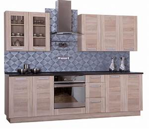 Küche 260 Cm : komplett k che 260 cm schr nke k chenzeilen wiki eiche sonoma ebay ~ Orissabook.com Haus und Dekorationen