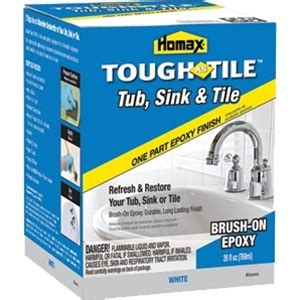 Homax Tub Tile And Sink Refinishing Kit by Homax Tub Tile Brush On Epoxy Finish