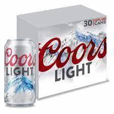 Busch Light 30 Pack Price Coors Light 30 Pack Can 30pk Little Bros Beverage Outlet