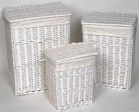 panier a linge osier blanc panier linge osier blanc home design architecture cilif