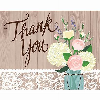 Thank Notes Rustic Party 8ct Target Cards