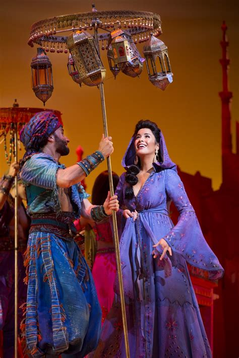theater review aladdin national    hollywood