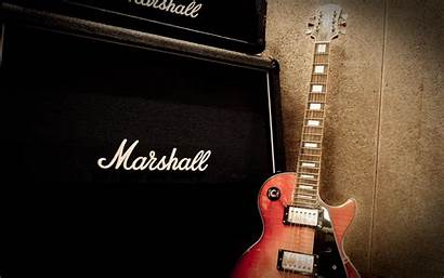 Marshall Guitar Electric Wallpapers Les Paul Amplifier
