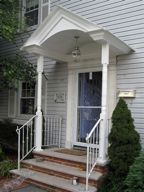 custom entry ways entrances  porticos  north nj