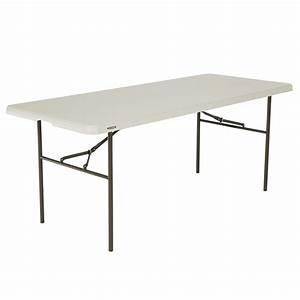 Lifetime 6ft Standard Blow Mould Trestle Table Bunnings