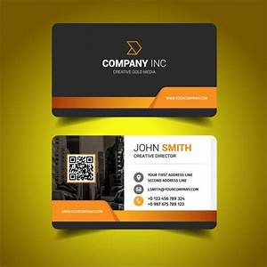 Business card design vector free download for Vector business card
