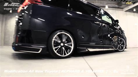 Toyota Vellfire Modification by Modification All New Alphard Vellfire By Rowen Japan