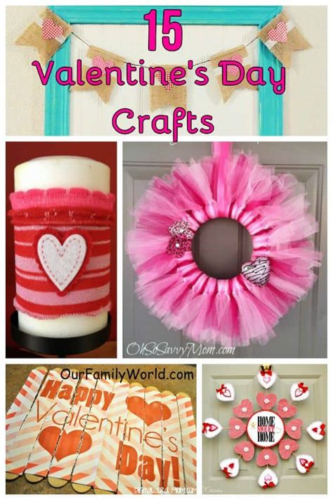 valentines craft ideas for adults 15 easy s day crafts our family world