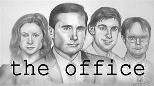 Time Lapse Drawing - The Office