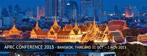 bangkok thailand  oct  nov  aprc research