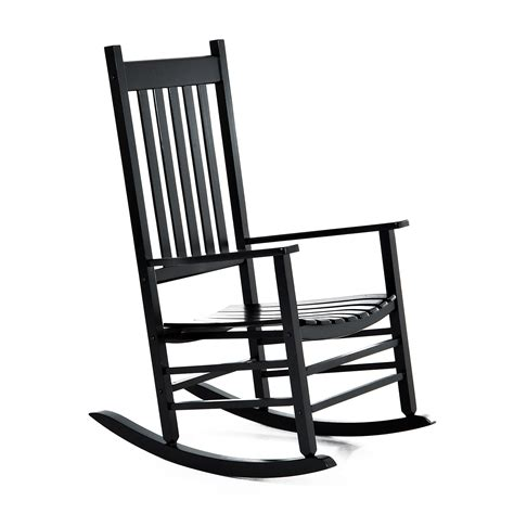 Outdoor Porch Chairs by Outsunny Porch Rocking Chair Outdoor Patio Wooden