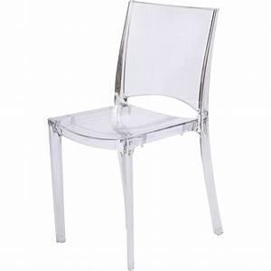 Chaise Leroy Merlin : chaise de jardin en polycarbonate paris lux transparent ~ Melissatoandfro.com Idées de Décoration