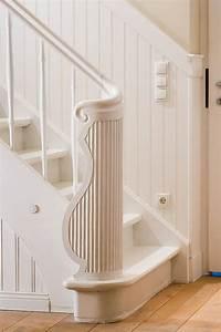 Bad Wandverkleidung Kunststoff : wandvert felung treppe wei flur pinterest ~ Sanjose-hotels-ca.com Haus und Dekorationen