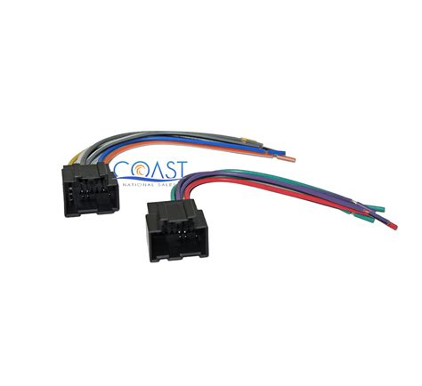 Chevrolet Aveo Wiring Harnes Connector by Stereo Wire Harness Plugs Into Factory Harness For 2007